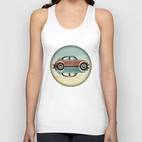 bug Tank Tops featuring love bug by Vin Zzep