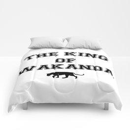 The King Of Wakanda Comforters