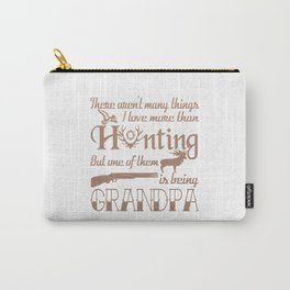 Hunting Grandpa Carry-All Pouch
