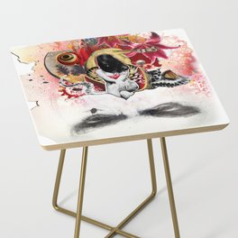 MINGA x Sleepless is the Watchful Eye Side Table