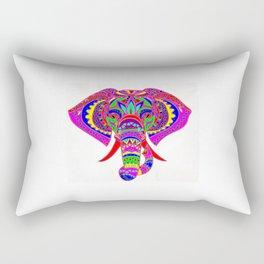 Colourful Elephant Rectangular Pillow
