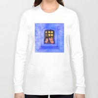 tea Long Sleeve T-shirts featuring Tea by digital2real