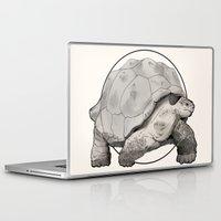 tortoise Laptop & iPad Skins featuring Tortoise by Twentyfive