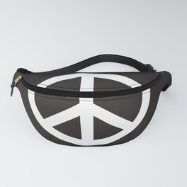 peace symbol flag sign Fanny Pack