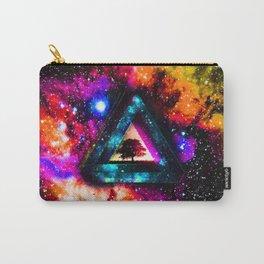 Zelda Triforce Triangle Nebula Carry-All Pouch