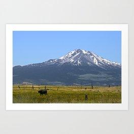 Shasta Pastorale No. 2 Art Print