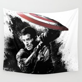 Steve Rogers: Shadow Edition Wall Tapestry