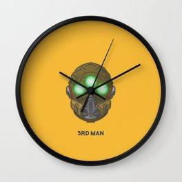 Loot#2 - Mask of the Third Man Wall Clock