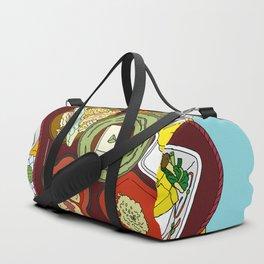 Japanese Veggie Platter Duffle Bag