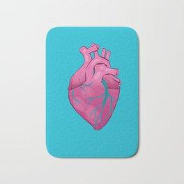 Hearts 01 - Human Heart Bath Mat