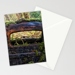 Mossy Truck Cab Stationery Cards