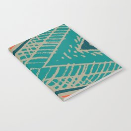 Spring collection - orange - abstract Notebook