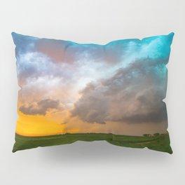 Glorious - Stormy Sky and Kansas Sunset Pillow Sham