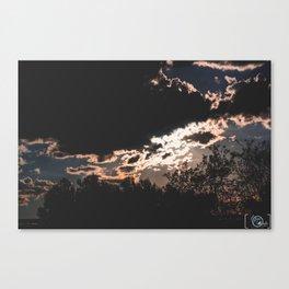 Shuffle Canvas Print