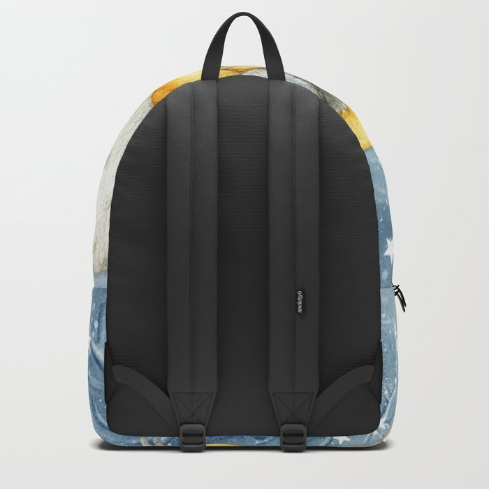 Winter animal #8 Backpack