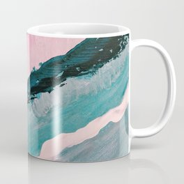 ECHO BEACH BABY | Acrylic abstract art by Natalie Burnett Art Coffee Mug