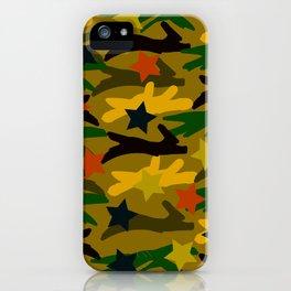 Ballpark Crush Camouflage iPhone Case