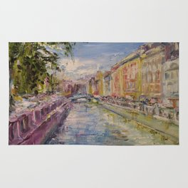Painting Oil Realism Canvas Art Impressionism Landscape Painting Modern Office Decor Art Collection Rug