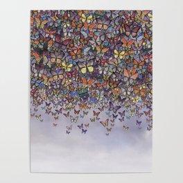 butterfly cascade Poster