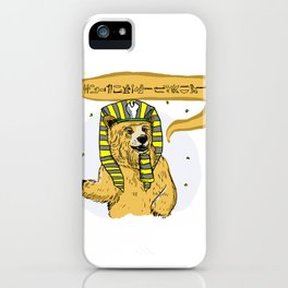 Bear Lord iPhone Case