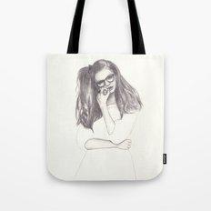 No.4 Fashion Illustration Series Tote Bag