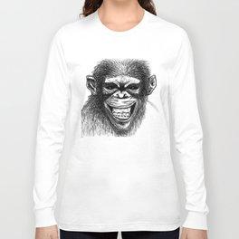 CRAZY MONKEY Long Sleeve T-shirt