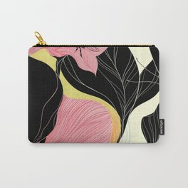 Flowers & Bees Carry-All Pouch