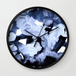 inkblot marble 1 Wall Clock