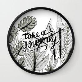 Take a journey Wall Clock