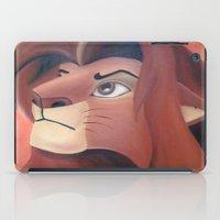 simba iPad Cases featuring Simba by Jgarciat