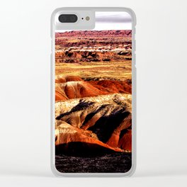 The Painted Desert Clear iPhone Case