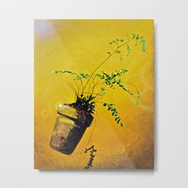 Ferdinand; The Fern that Can Metal Print