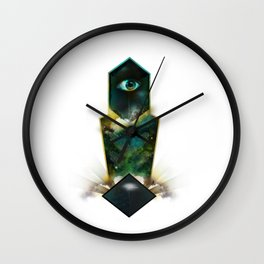 Crystal Visions Wall Clock