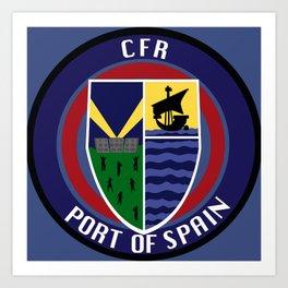 CFR - Port Of Spain Art Print