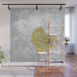 Hearts and ghosts of romance Wall Mural