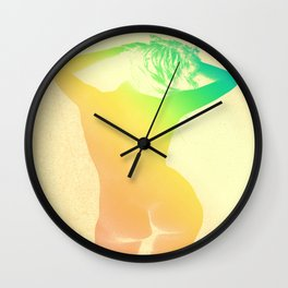 Carefree Summer Wall Clock
