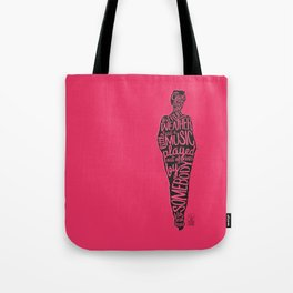 Wine Weather Music Tote Bag