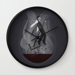 Alternate 'Gattaca' Movie Poster Art Wall Clock