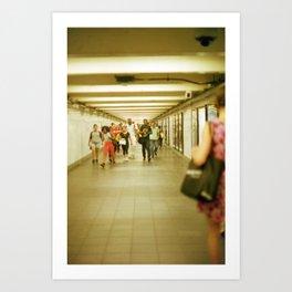 Commute to Something Art Print