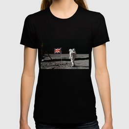 British Flag on the Moon T-shirt