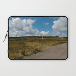 Hill Top Wind Farm Laptop Sleeve