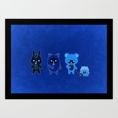 YAMMY ICE CREAM  Art Print