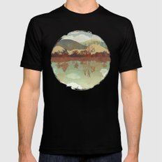 Lakeside Mens Fitted Tee X-LARGE Black