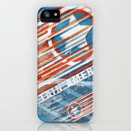 Steve Rodgers / The First Avenger  iPhone Case