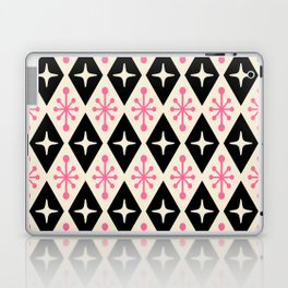 Mid Century Modern Atomic Triangle Pattern 113 Laptop & iPad Skin