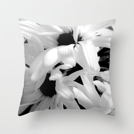 Shasta Daisies In The Light Throw Pillow