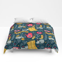 Pattern #71 - Hygge - Cosy winter Comforters