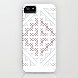 Tribal Hmong Embroidery iPhone Case