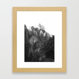 Temple of Sibyl, Paris Framed Art Print