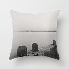 Sausalito views Throw Pillow